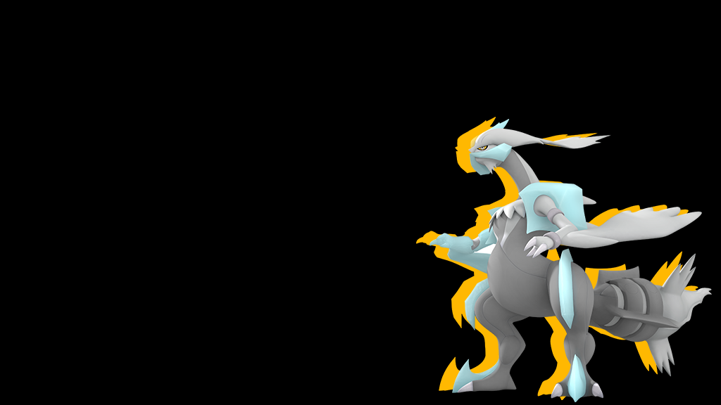Pokemon Wallpaper 3D White Kyurem