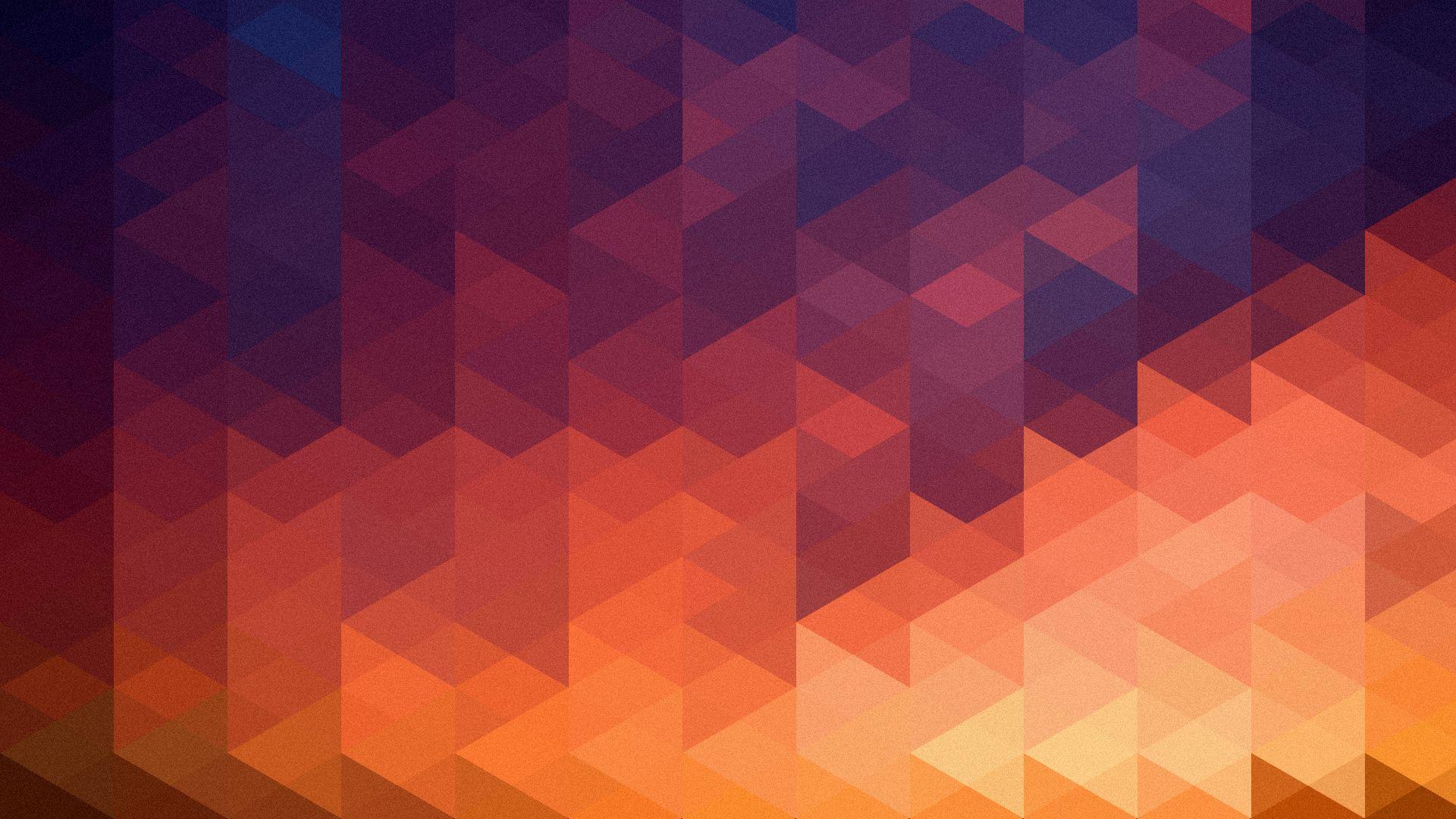 Geometric Multicolor Triangles HD Wallpaper FullHDWpp   Full HD 1920x1080