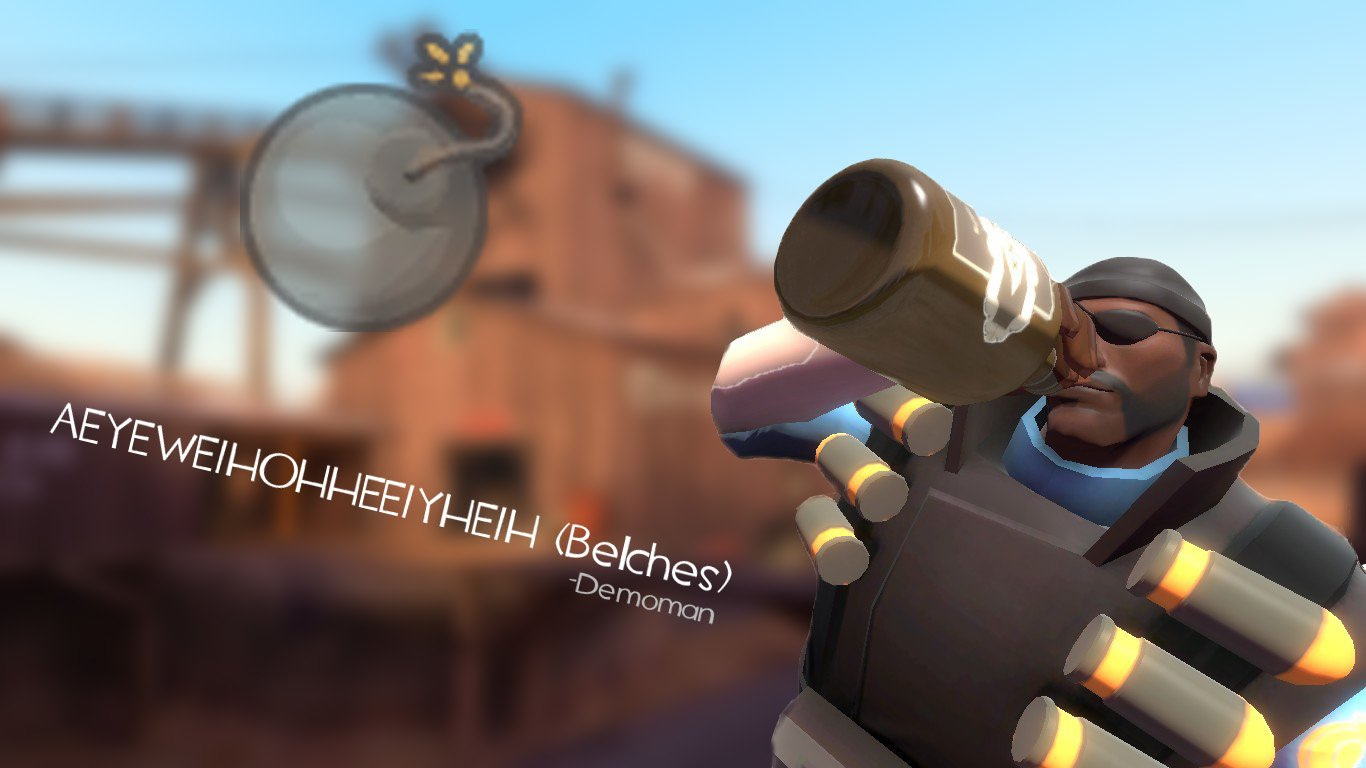 Demoman Wallpaper and Background Image 1366x768 ID87570 1366x768