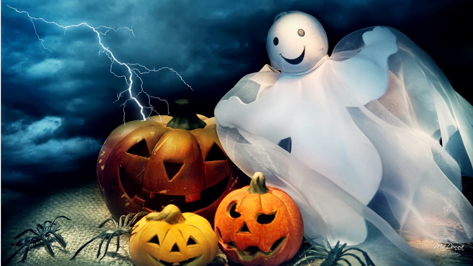 free halloween desktop wallpaper   Video Search Engine at 1600x900