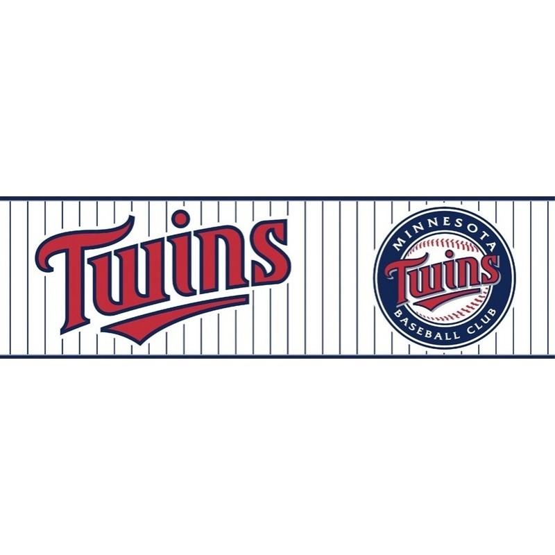 Wallpaper Border MLB Minnesota Twins Border 800x800