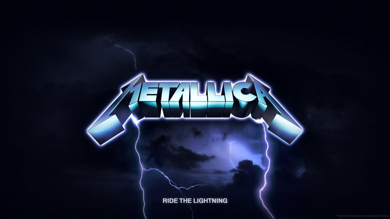Metallica Wallpaper Ride The Lightning Ride the lightning by 1280x720