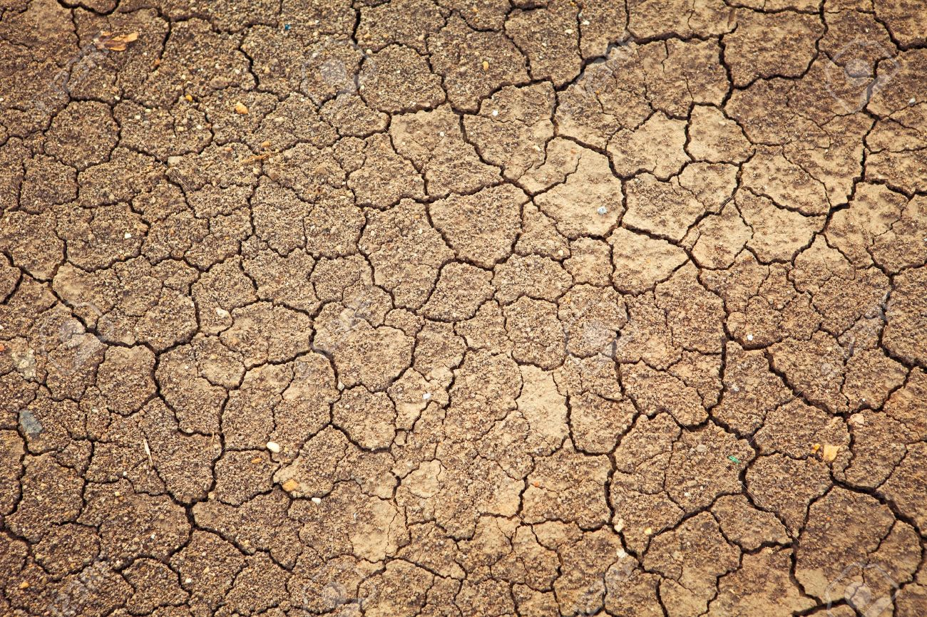 Dry Cracked Earth Background Clay Desert Texture Stock Photo 1300x866