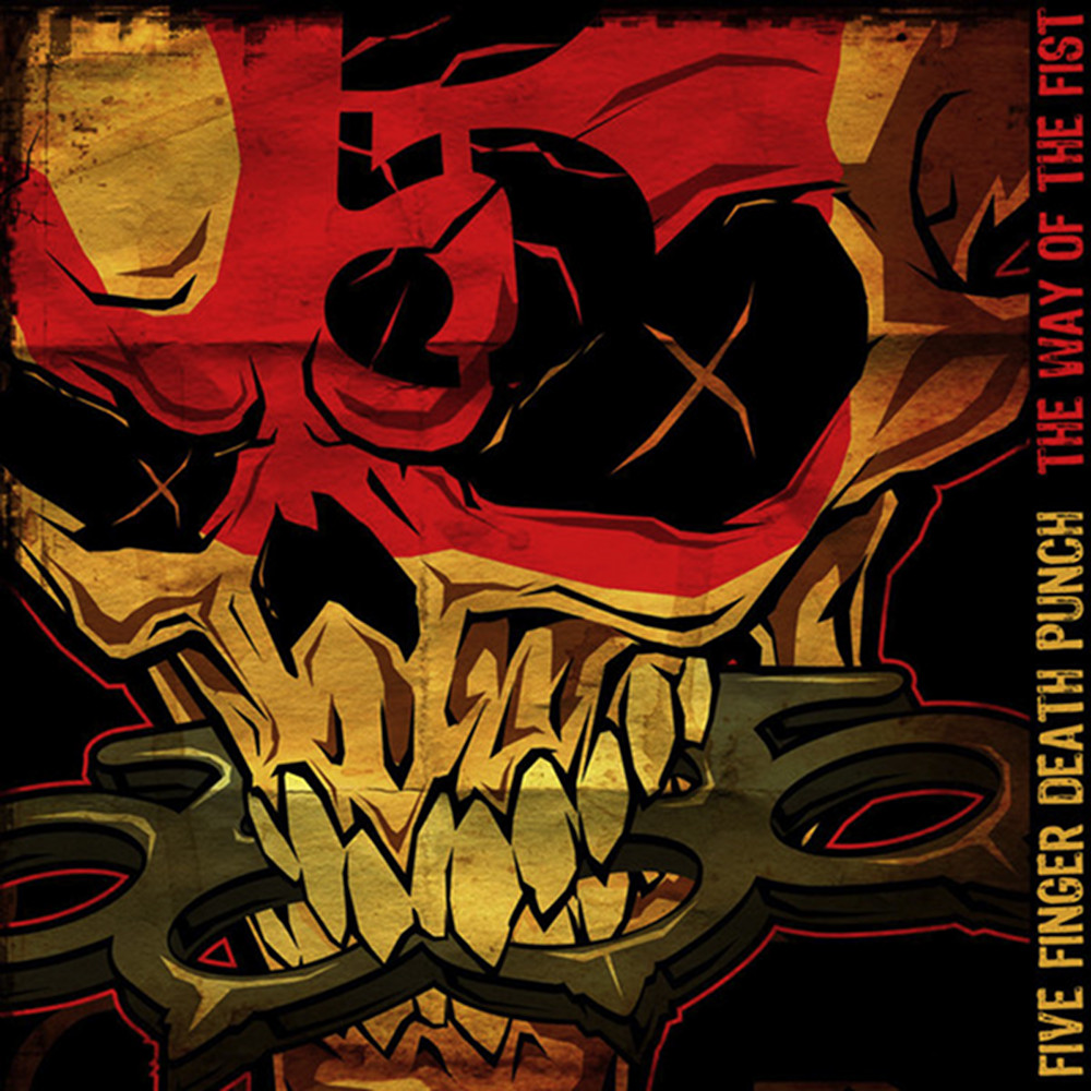 Five Finger Death Punch The Way Of The Fist Album Cover Skull Fist Wallpaper -...