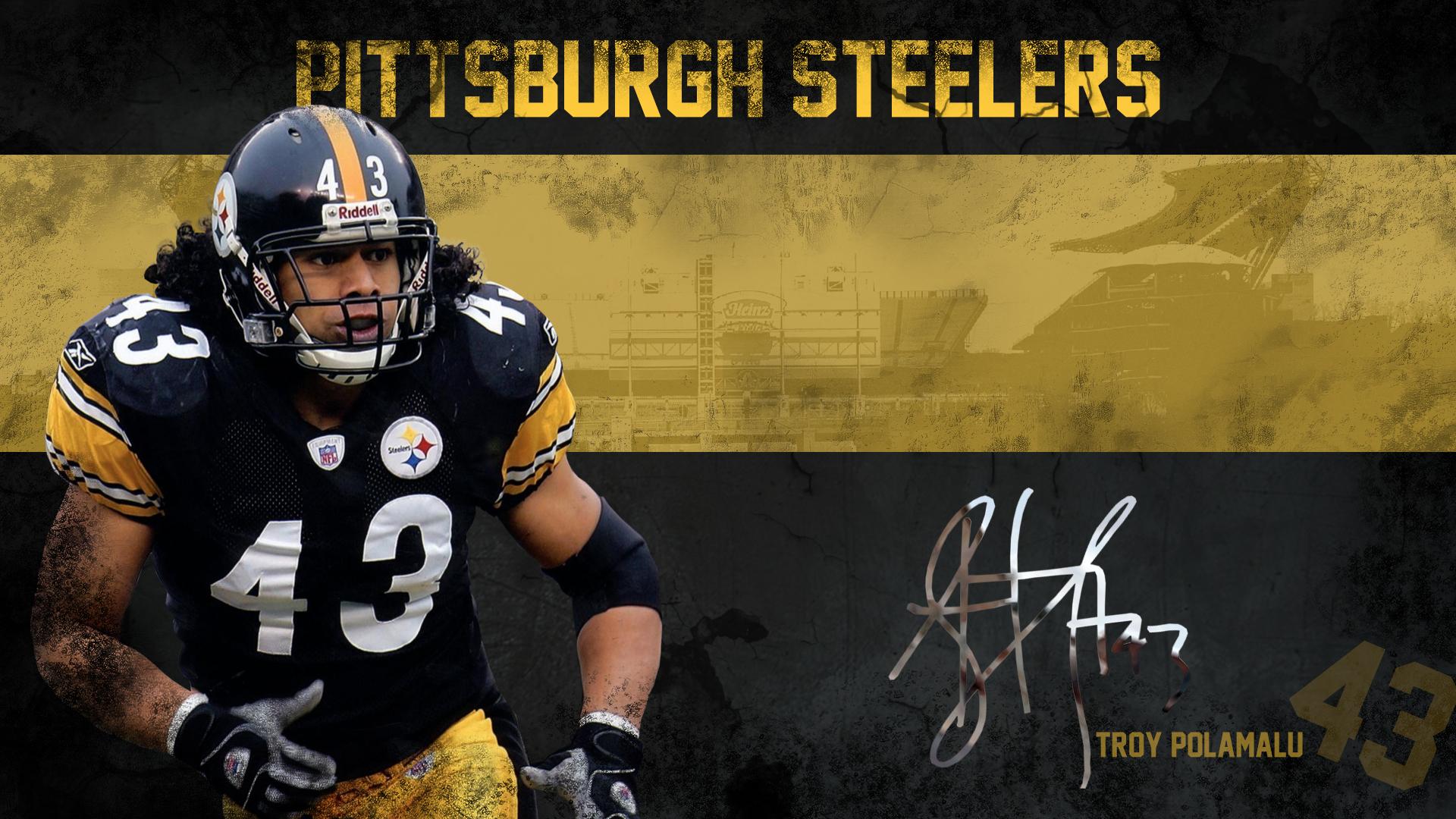 Troy Polamalu Wallpaper   Pittsburgh Steelers Wallpaper 34080251 1920x1080