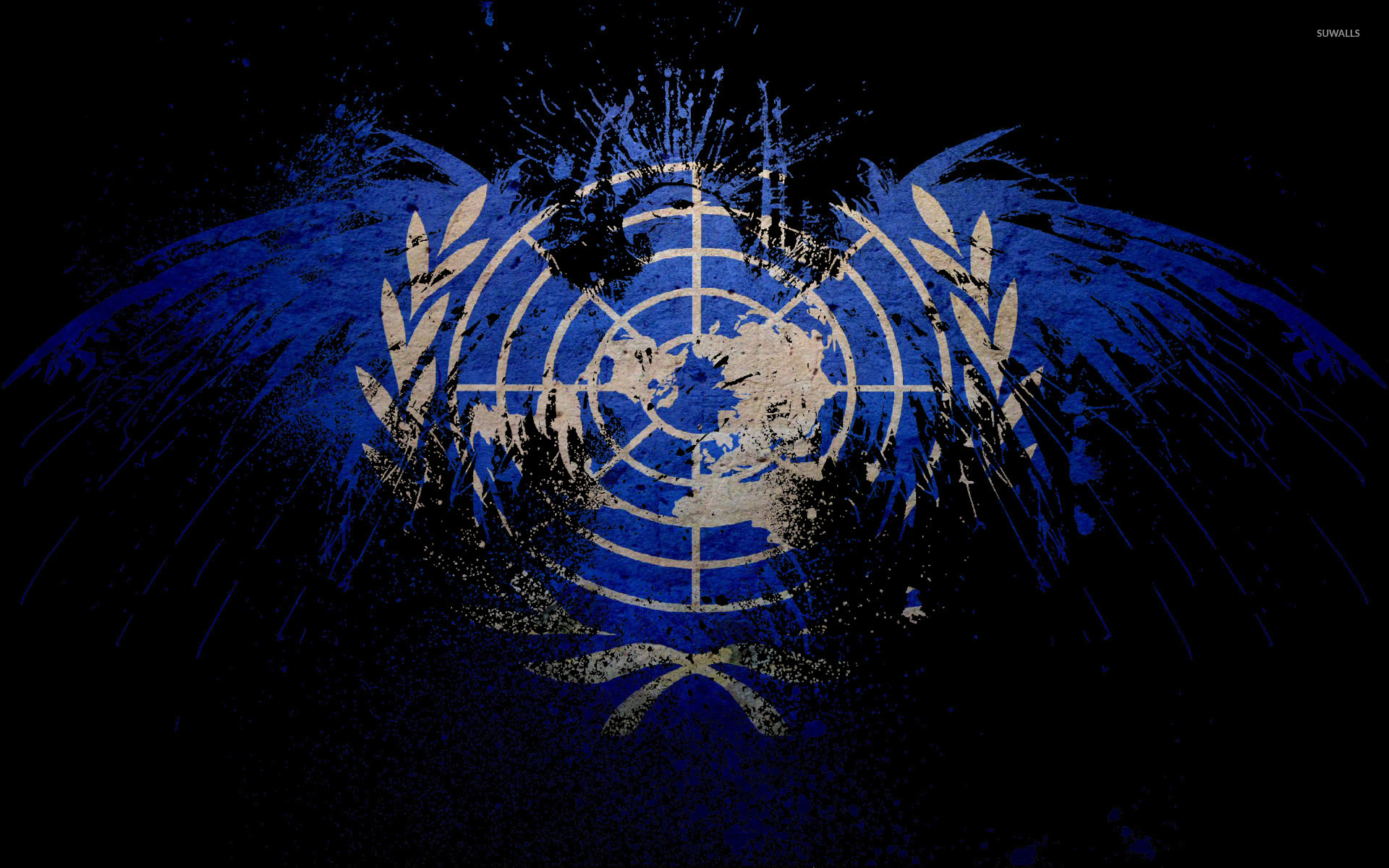 Flag of United Nations wallpaper   Digital Art wallpapers   38962 1920x1200