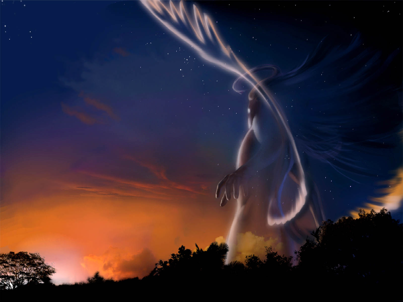 21 Angel Wallpapers 3D Backgrounds Images Pictures 1600x1200