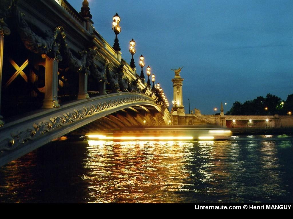Ponts de paris wallpaper wallpapersafari for Fond ecran paris