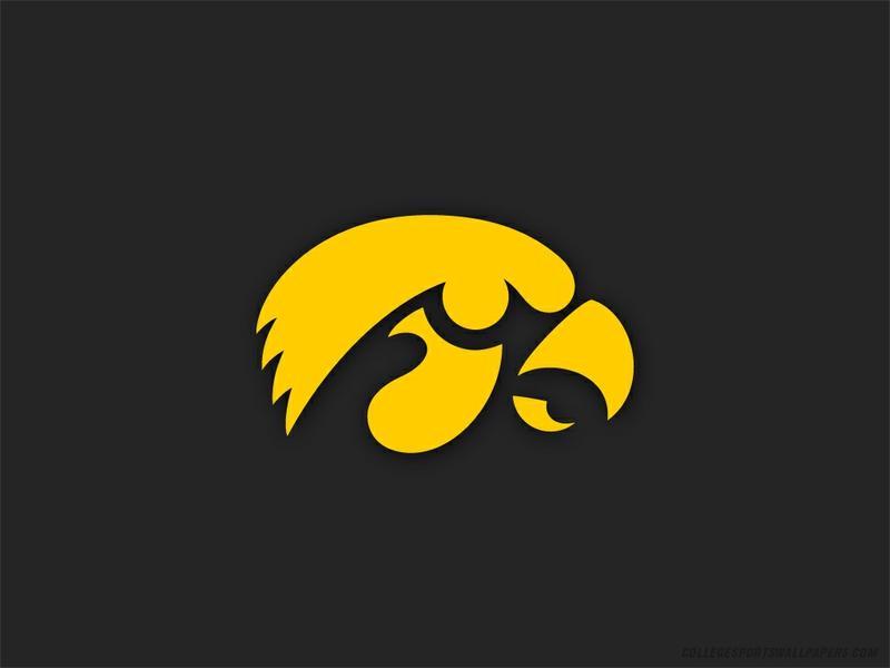 teams University of Iowa Logo Sports Football HD Desktop Wallpaper 800x600