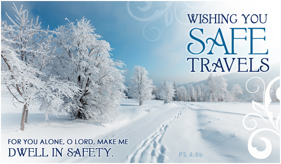 Safe Travels eCard   eMail Personalized Winter Cards Online 550x320