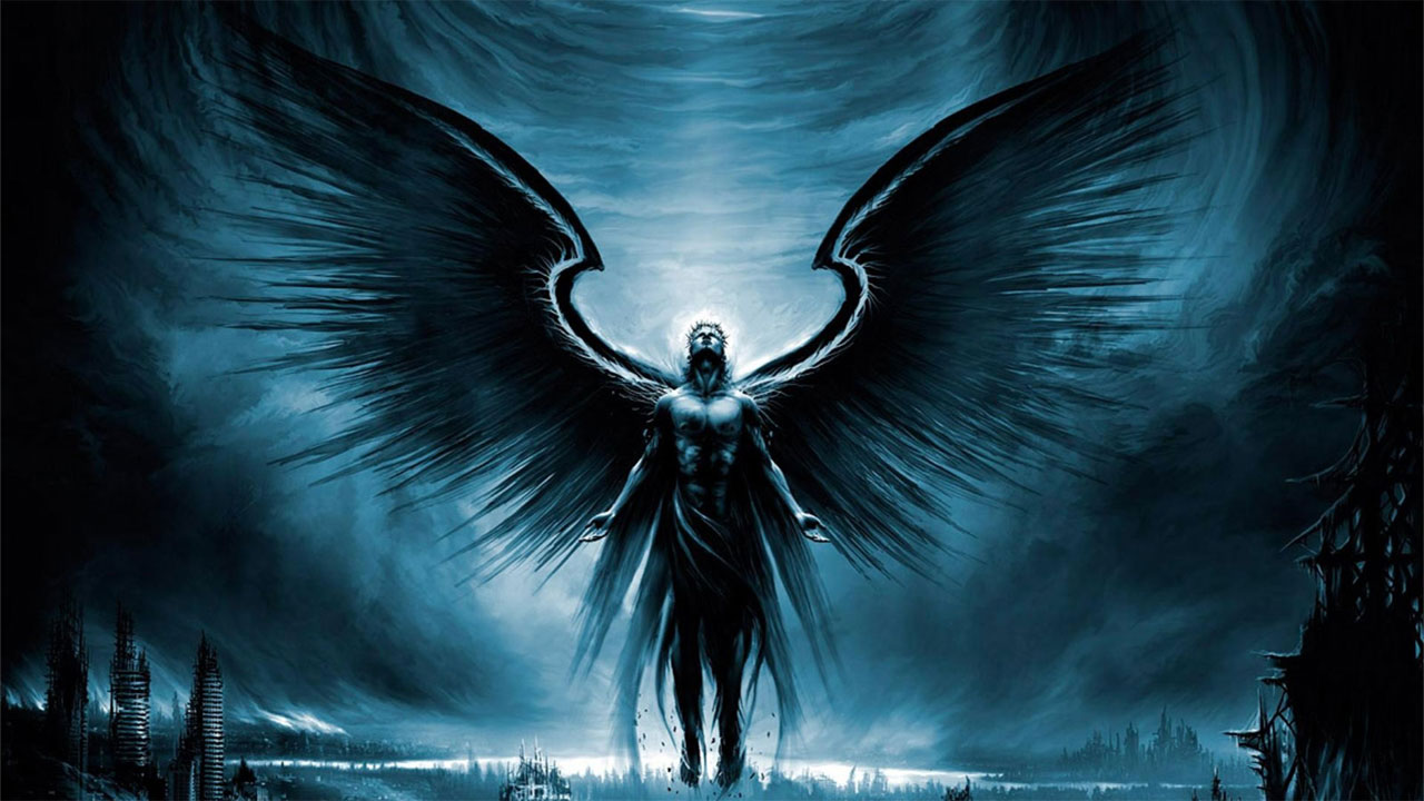 Dark Angel Wallpaper 1280x720