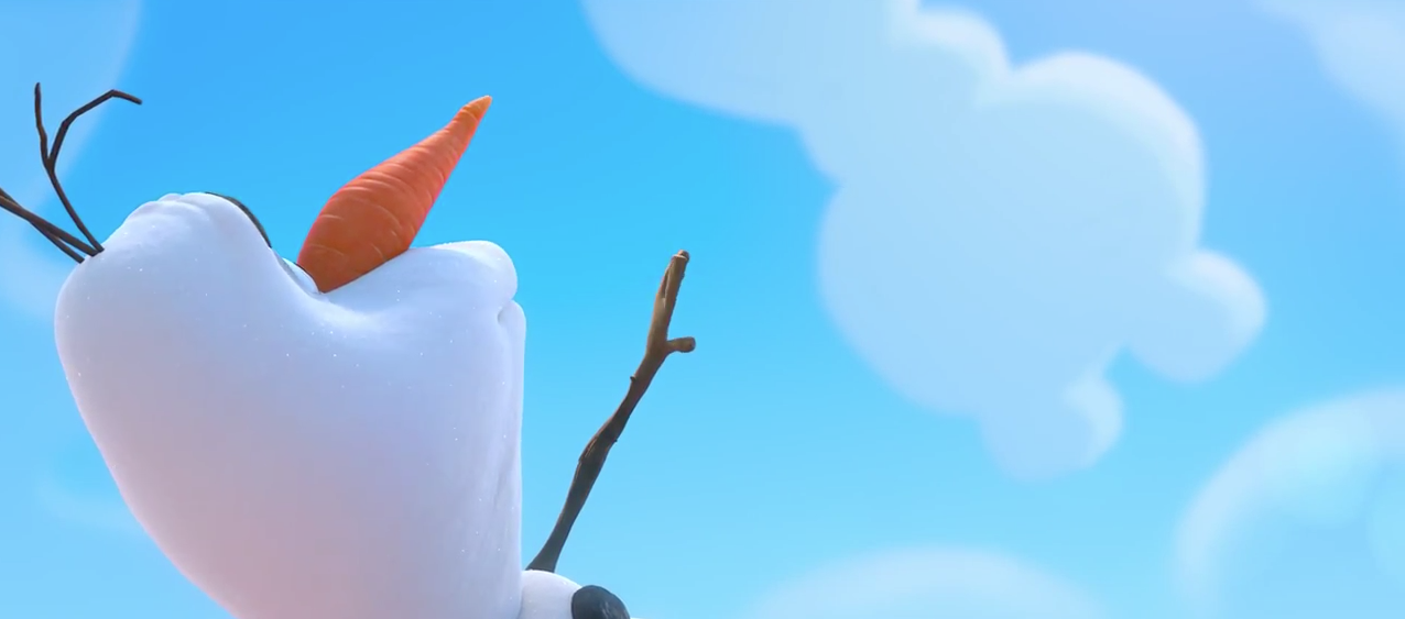 Animation Olaf The Snowman from Frozen in a New Disney Animated 1276x563