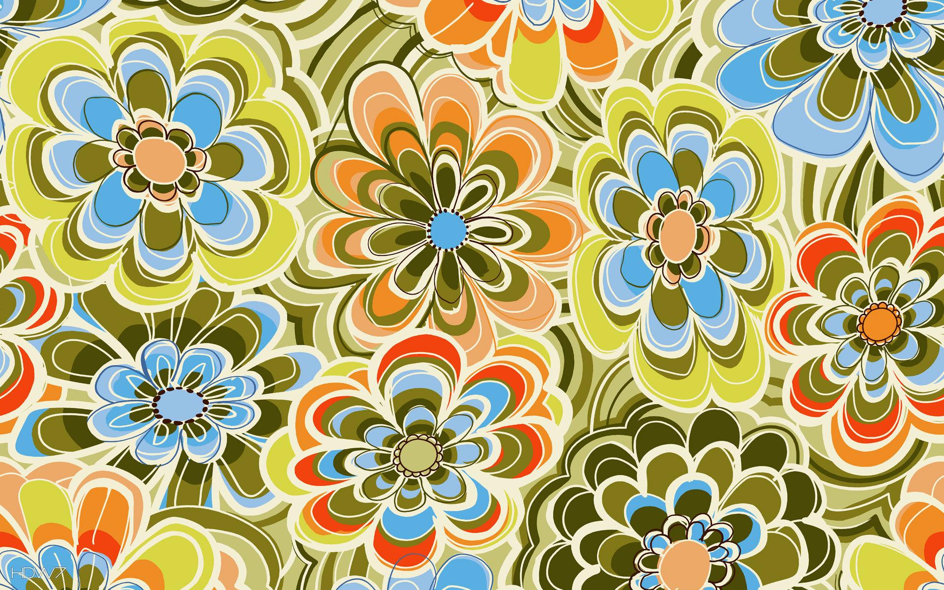 flowers background wallpaper pattern HD wallpaper gallery 78 1920x1200