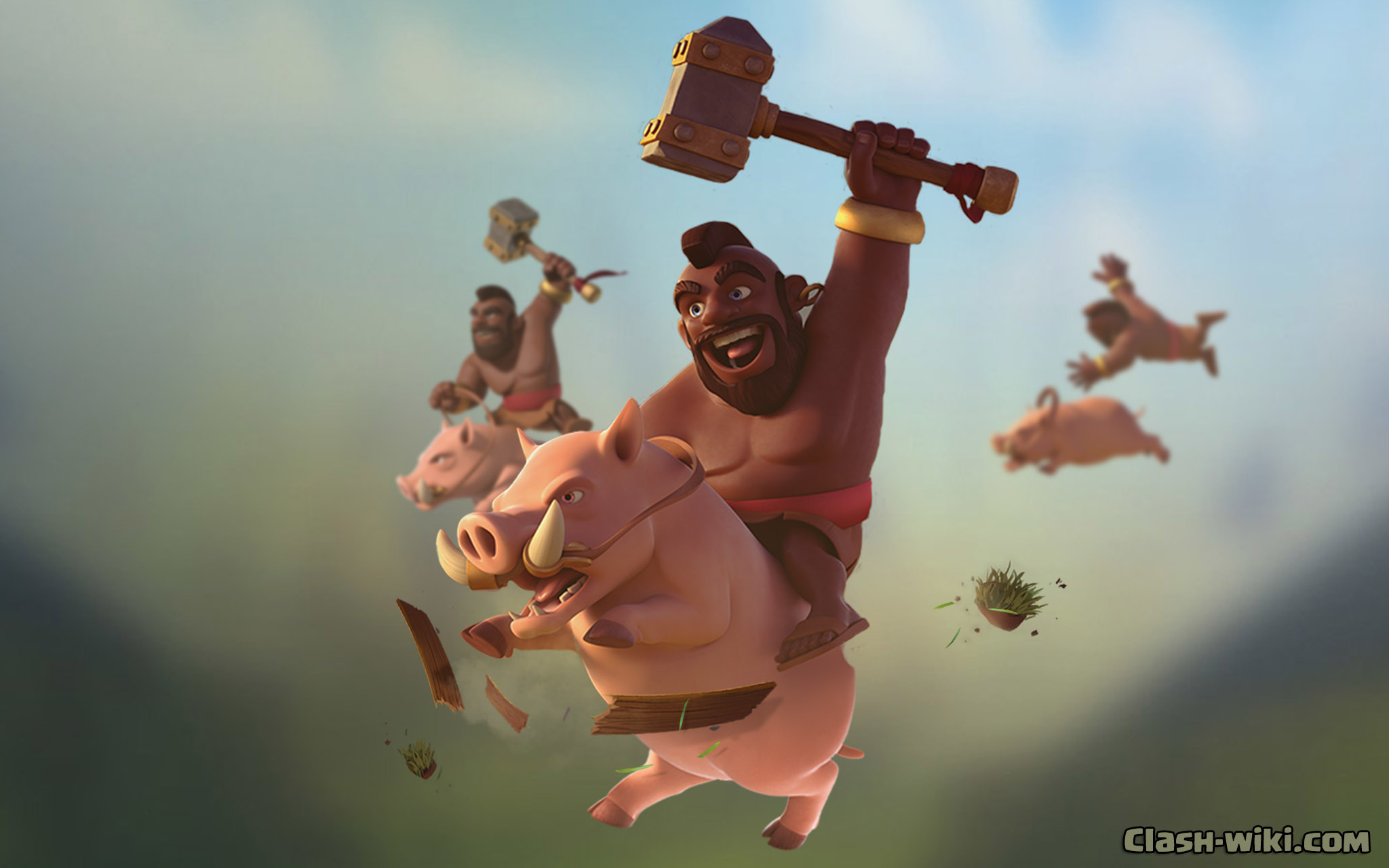Clash of Clans Wallpapers clash wikicom 2048x1280