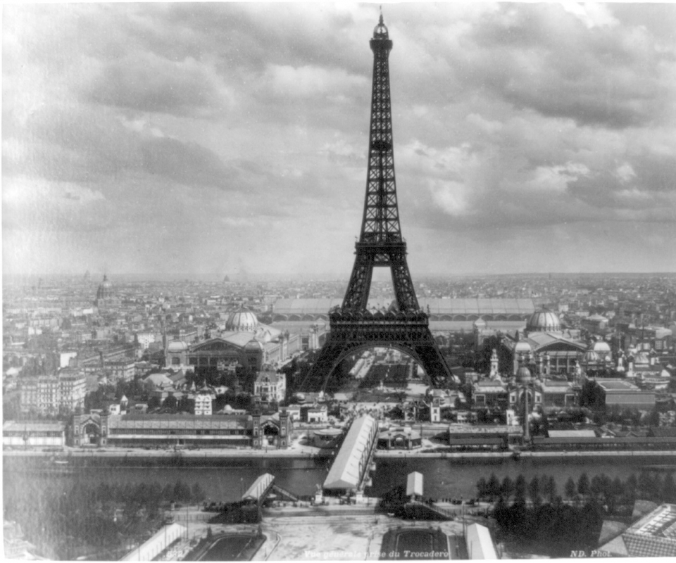 Paris Wallpaper Black And White