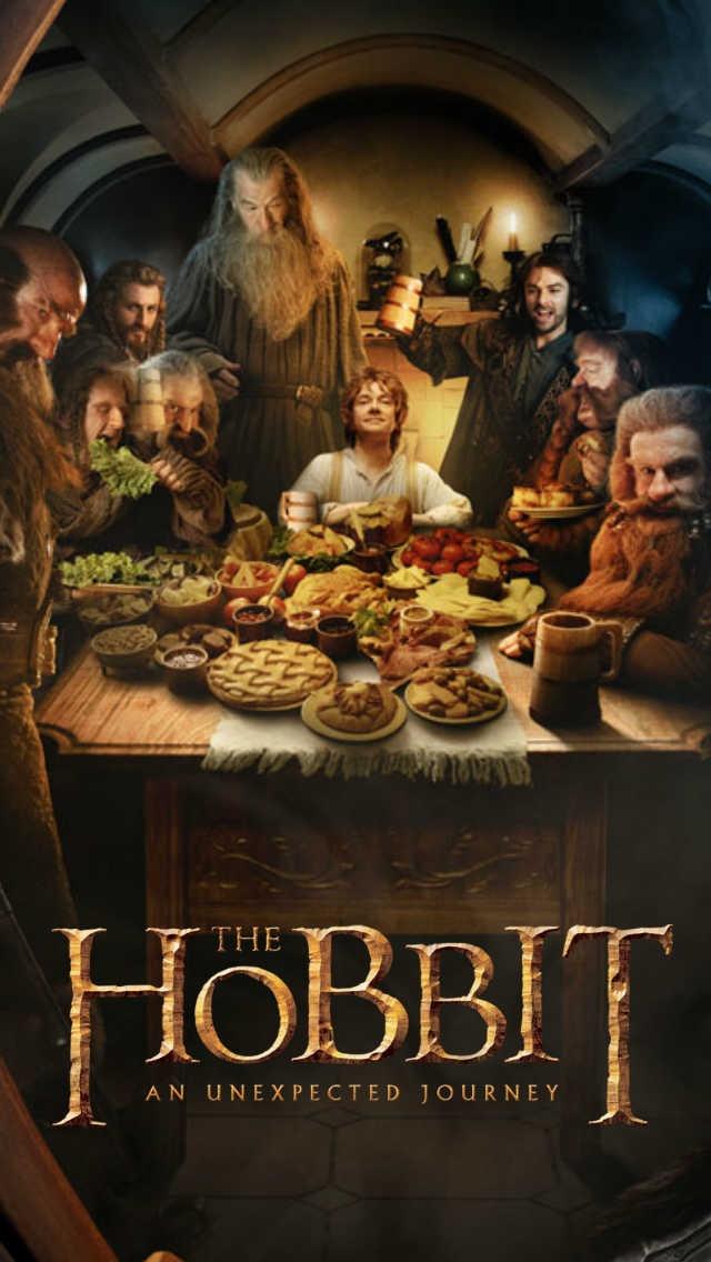 The Hobbit iPhone 5 wallpaper ReadReadRead Pinterest 640x1136
