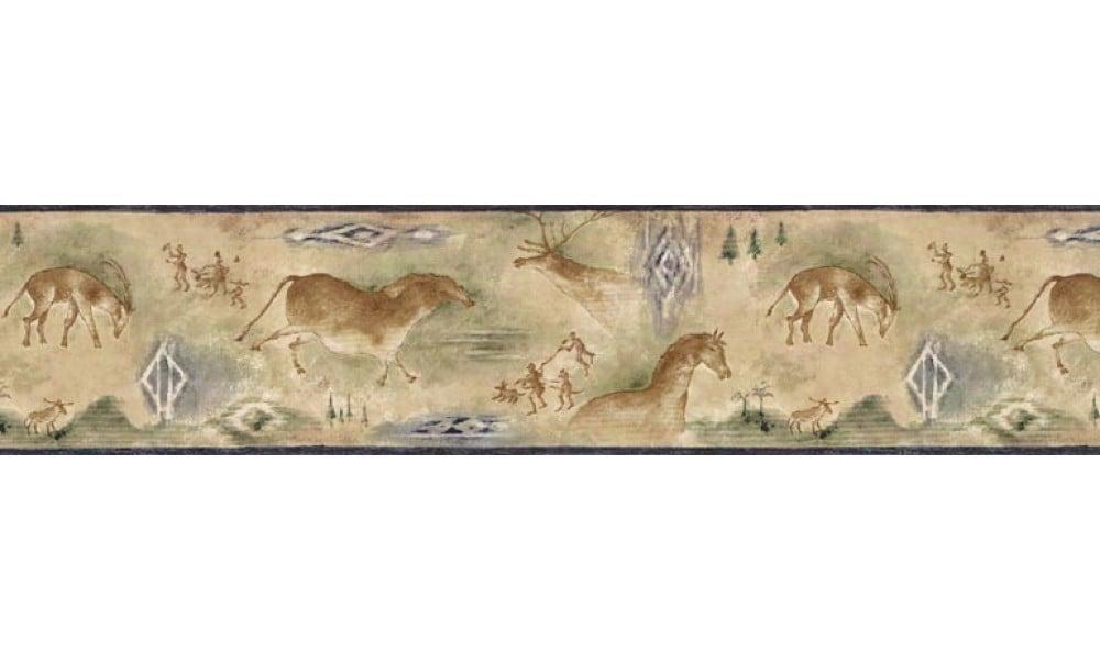 Animal Borders Deer Moose Animals Wallpaper Border B25021 1000x600