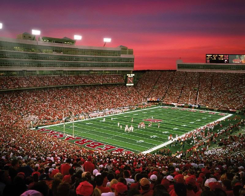 Nebraska football stadium wallpaper wallpapersafari - Nebraska football wallpaper ...