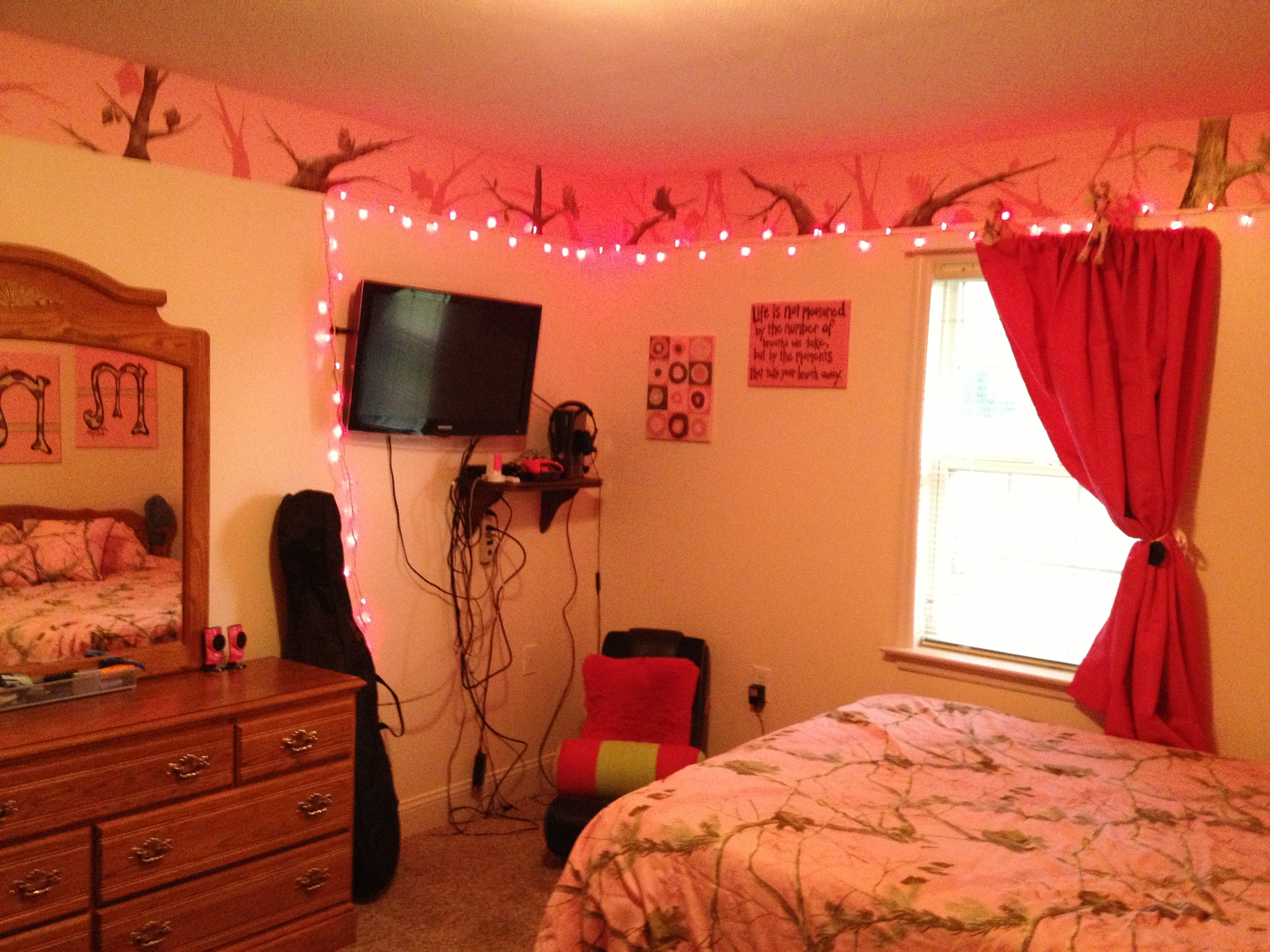 My pink camo room Rustic home ideas Pinterest 3264x2448