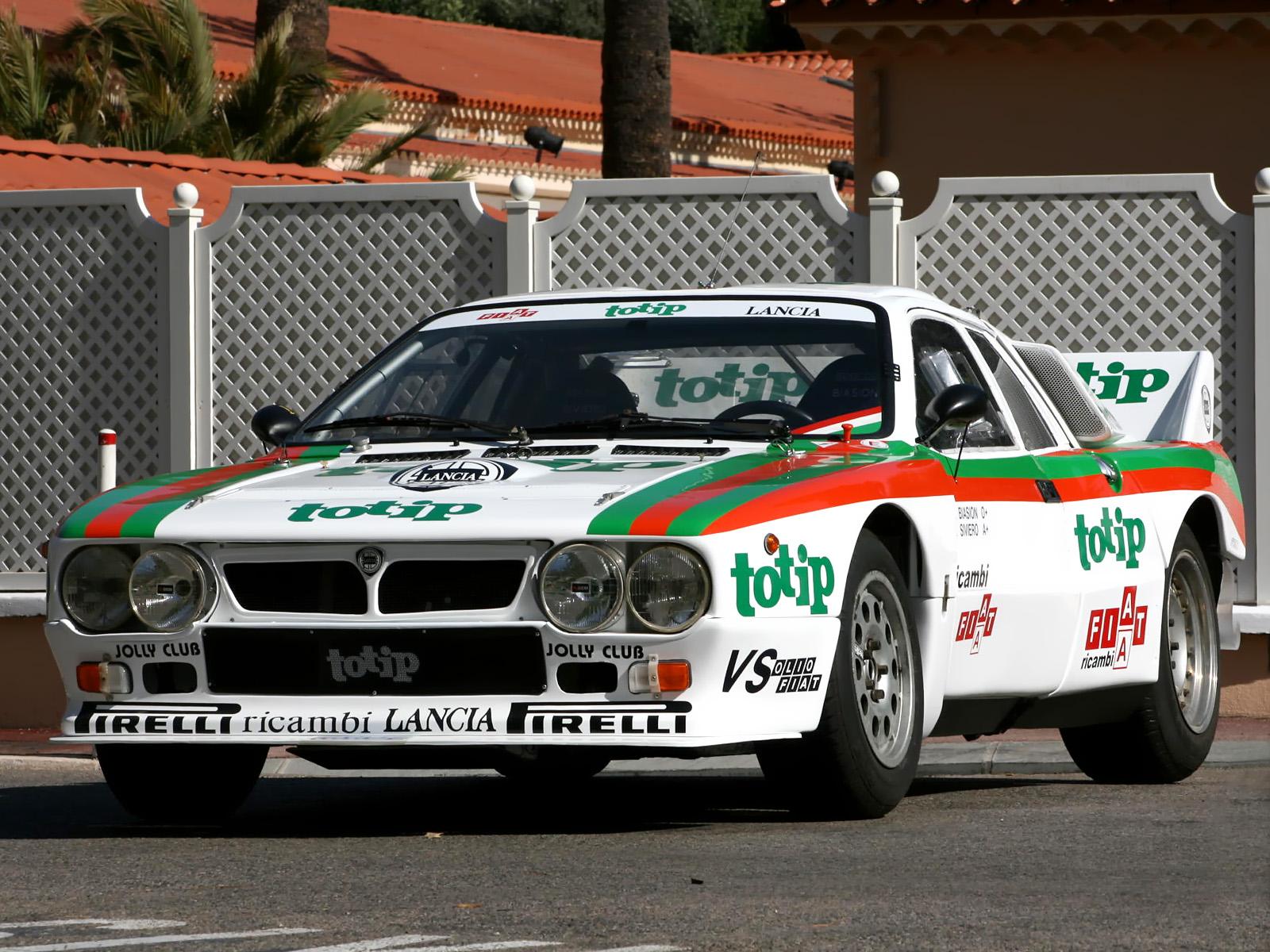 1983 Lancia Rally 037 Group B race racing h wallpaper background 1600x1200