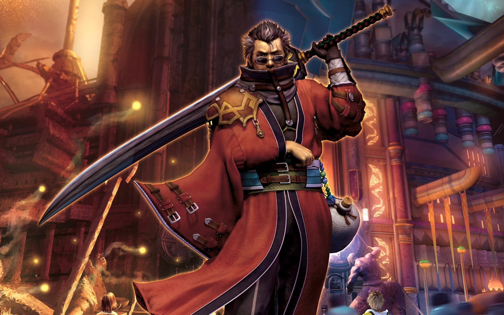Free Download Auron Final Fantasy X Wallpaper 5713 1920x1200 For