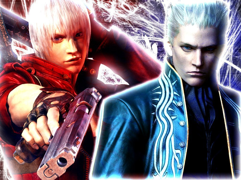 Vergil Devil May Cry Wallpapers May Cry 3 Dante And Vergil 1024x768