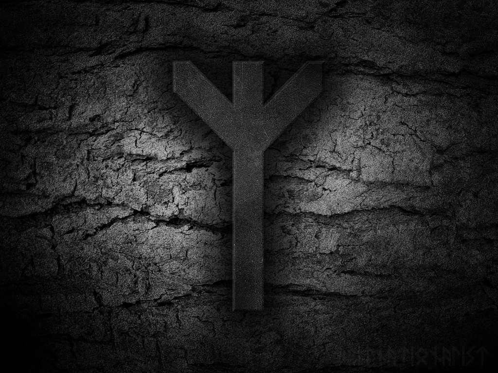 viking rune wallpaper wallpapersafari