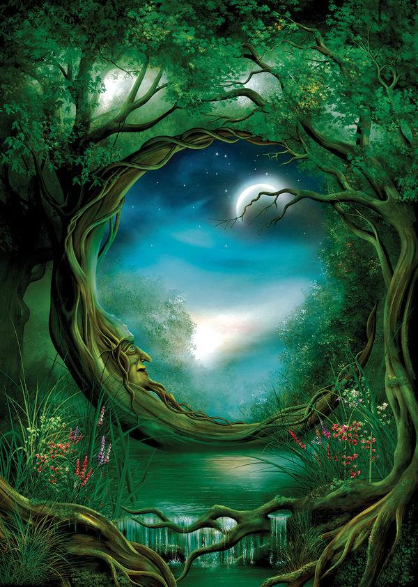 Moon Tree by John E Shannon DecalGirl 600x842
