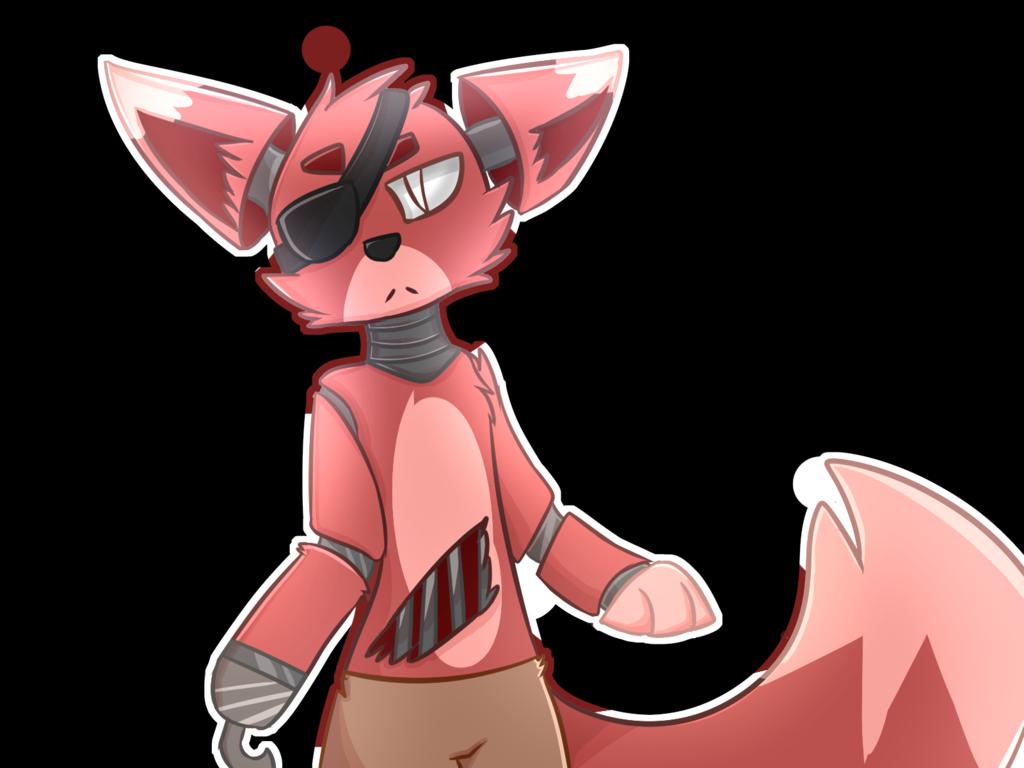 Fnaf   Foxy by NinfiaCrew 1024x768