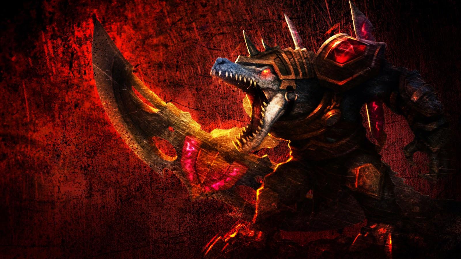 Renekton League of Legends Wallpaper, Renekton Desktop Wallpaper