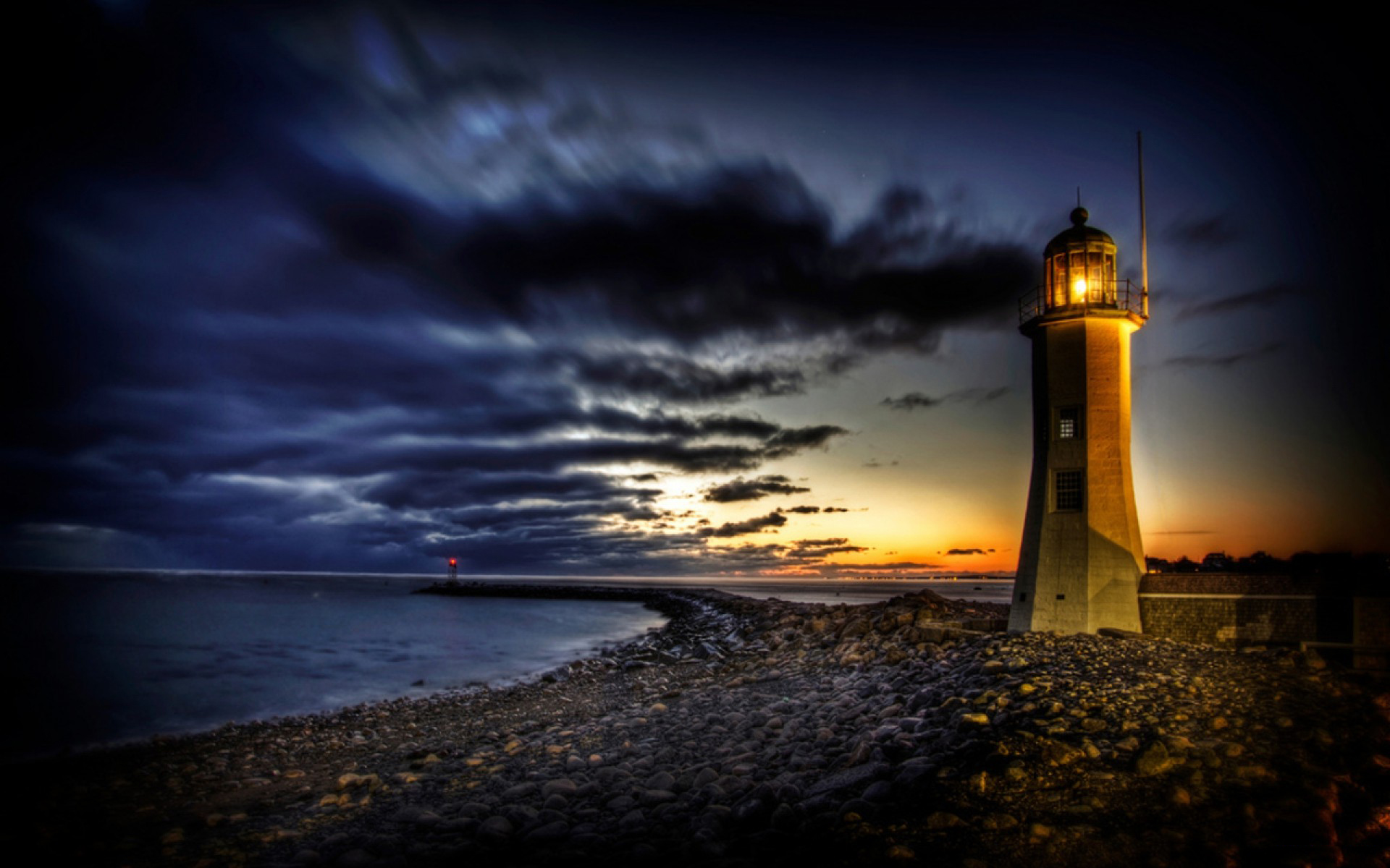 Wallpapers Wide Hd Collections: HD Lighthouse Wallpaper