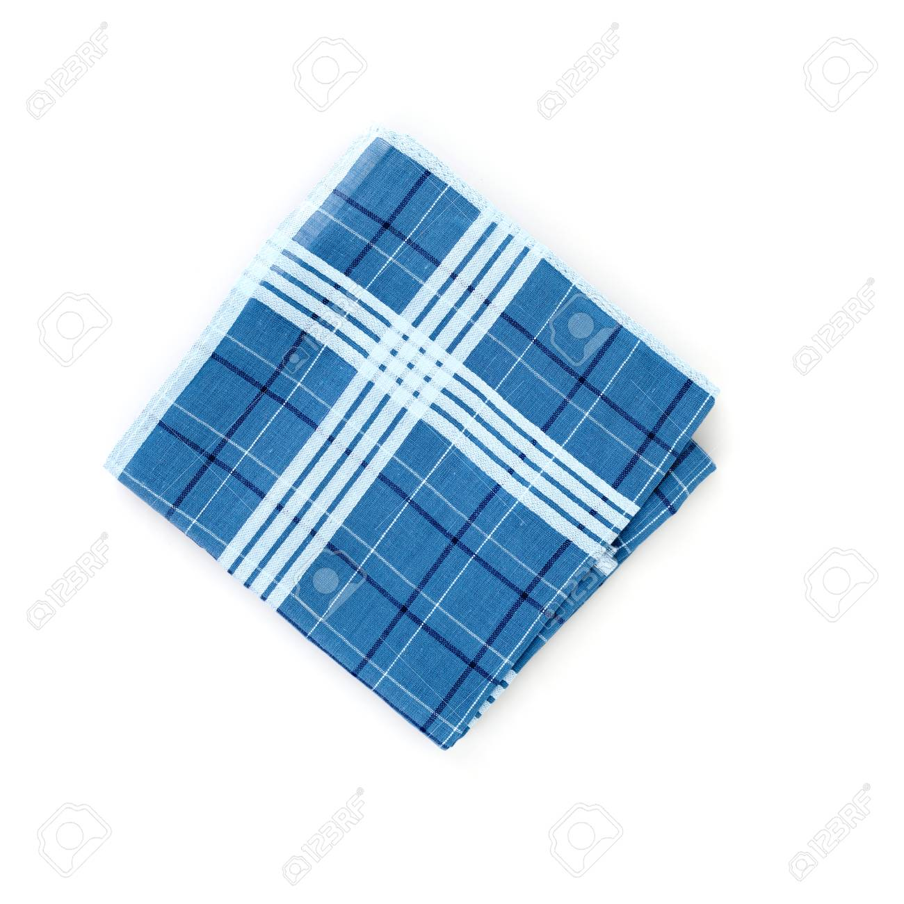 Close Up Of Handkerchief On White Background Stock Photo Picture 1300x1300