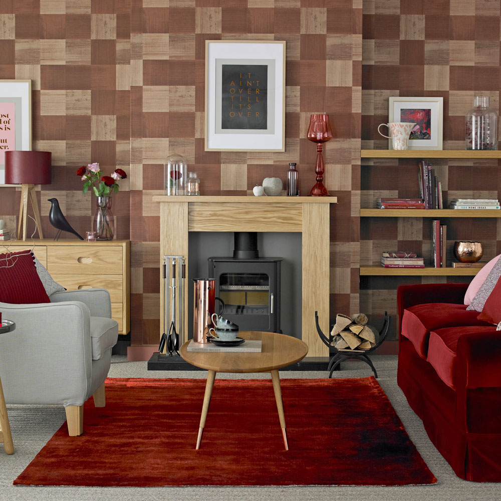 Living room wallpaper Wallpaper for living room Grey wallpaper 1000x1000