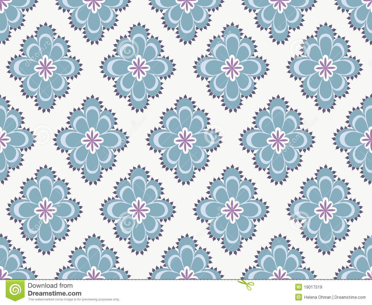 Blue Paisley Pattern Seamless paisley pattern in 1300x1065