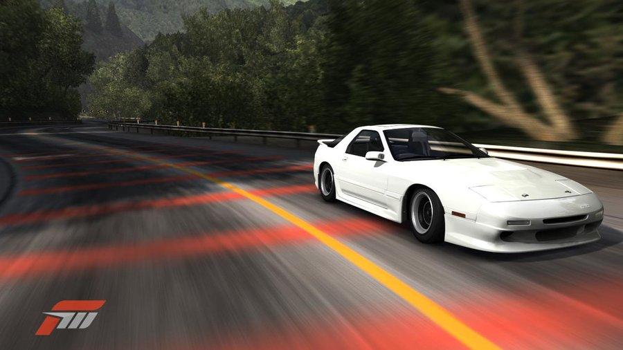 HD Mazda RX 7 1280 x 720p Wallpaper 900x506