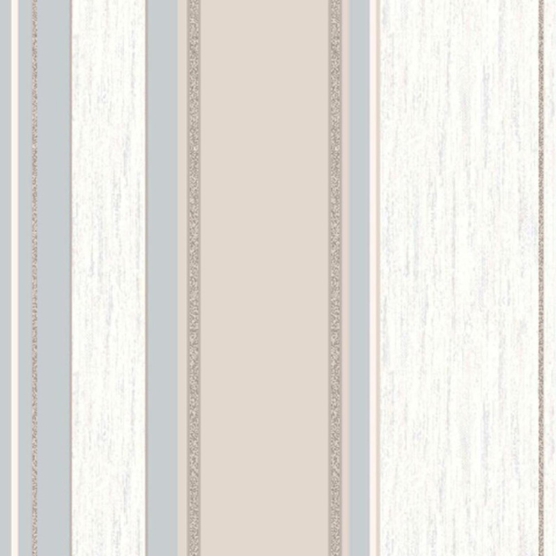 Vymura Synergy Glitter Stripe Wallpaper in Taupe and Silver   M0784 800x800