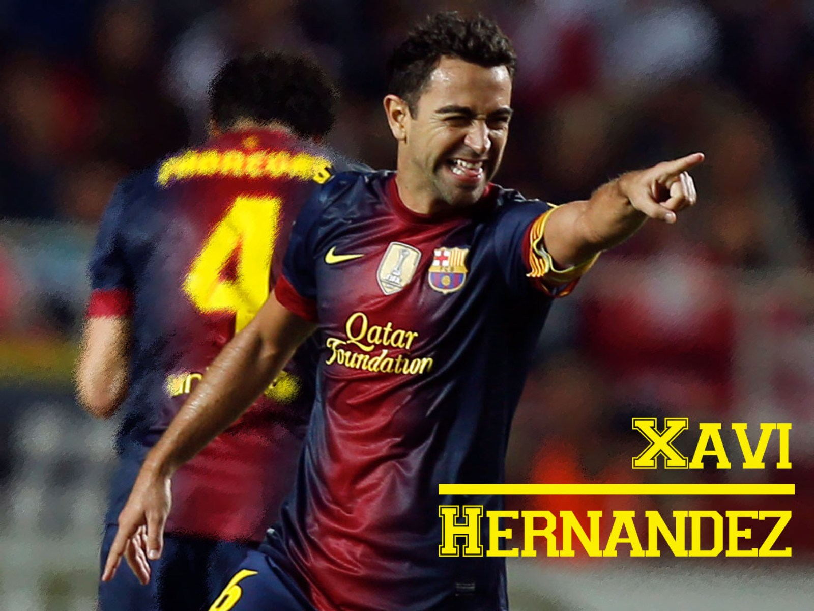 Football Xavi Hernandez hd Wallpapers 2013 1600x1200