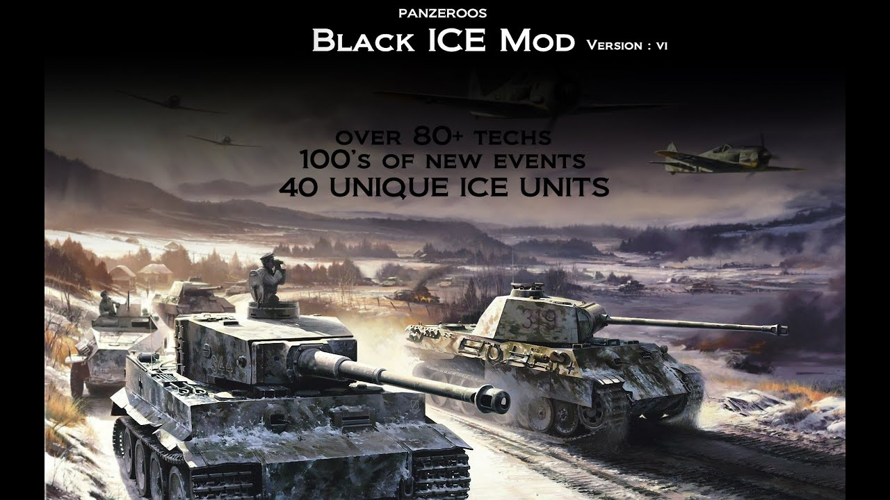 Hearts of Iron 3 BLACK ICE 9 1920x1200