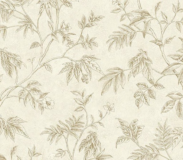 Leafs Wallpaper TH29059 Roll   Contemporary   Wallpaper   by 640x560