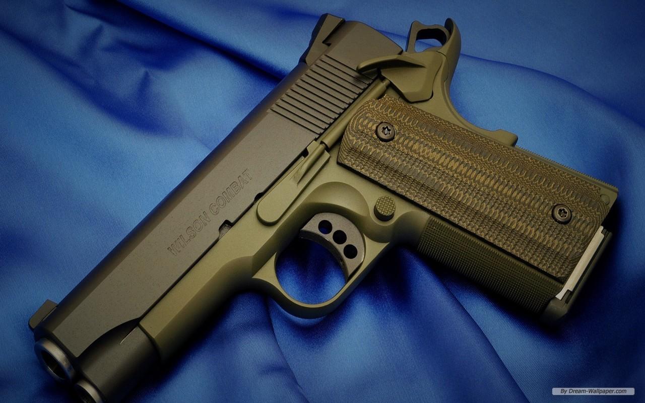 wallpaper   M1911 Automatic Pistol wallpaper   1280x800 wallpaper 1280x800