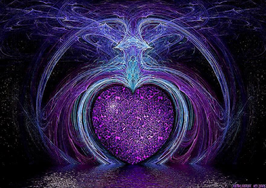 Purple Heart Wallpaper Screensavers Wallpapers Direct download 880x622