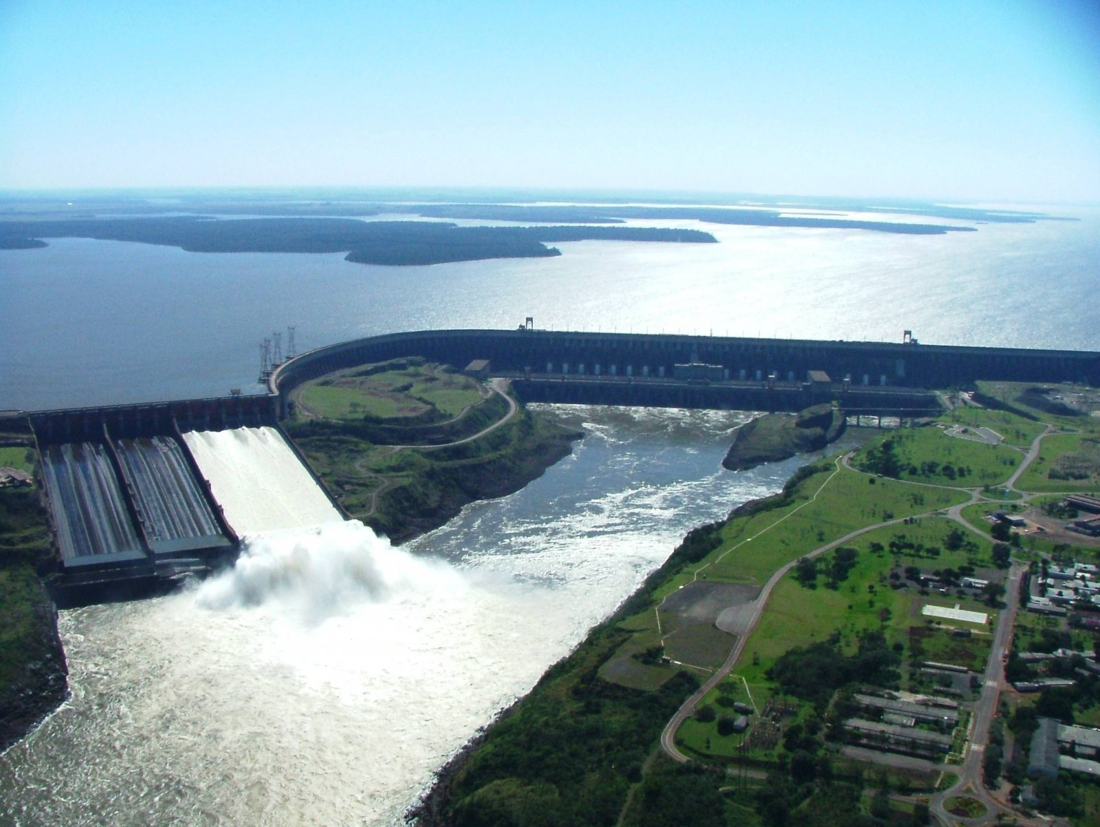 Itaipu hydroelectric Dam Wallpaper Travel HD Wallpapers 1600x1204