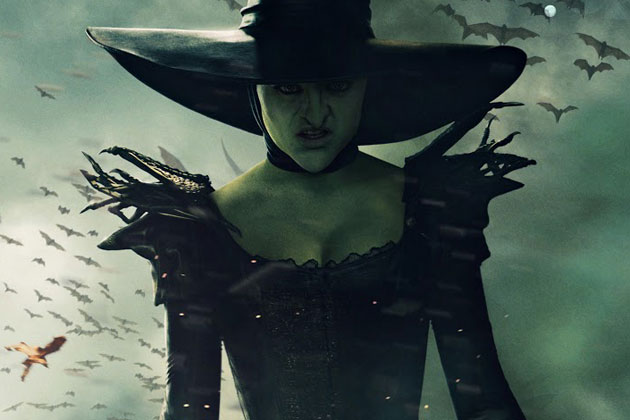and Powerful Poster The Wicked Witch Gets Up Close and Personal 630x420