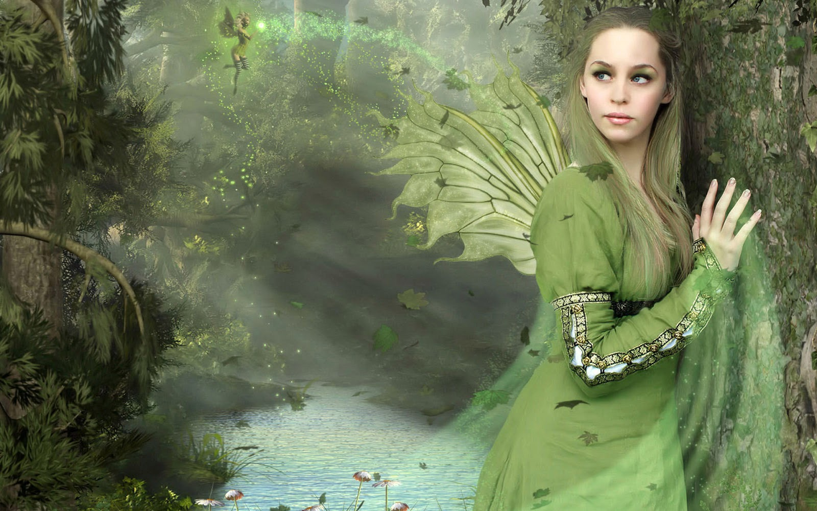 2013 photoshop fantasy angel wings tutorial wallpaper animated angel 1600x1000
