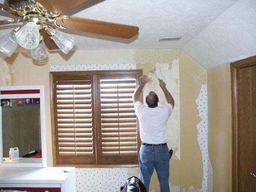Drywall Repair Drywall Repair After Wallpaper Removal 502x377
