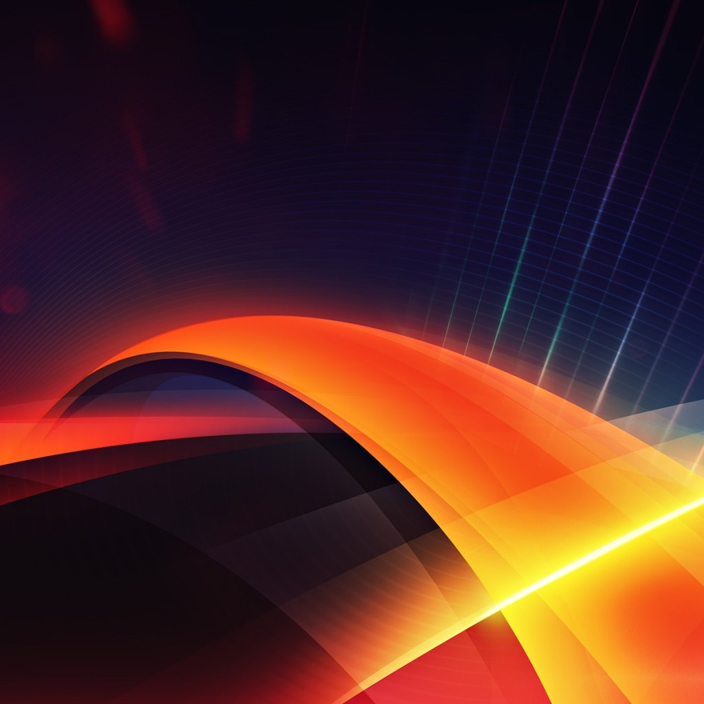 Abstract Orange Wallpaper