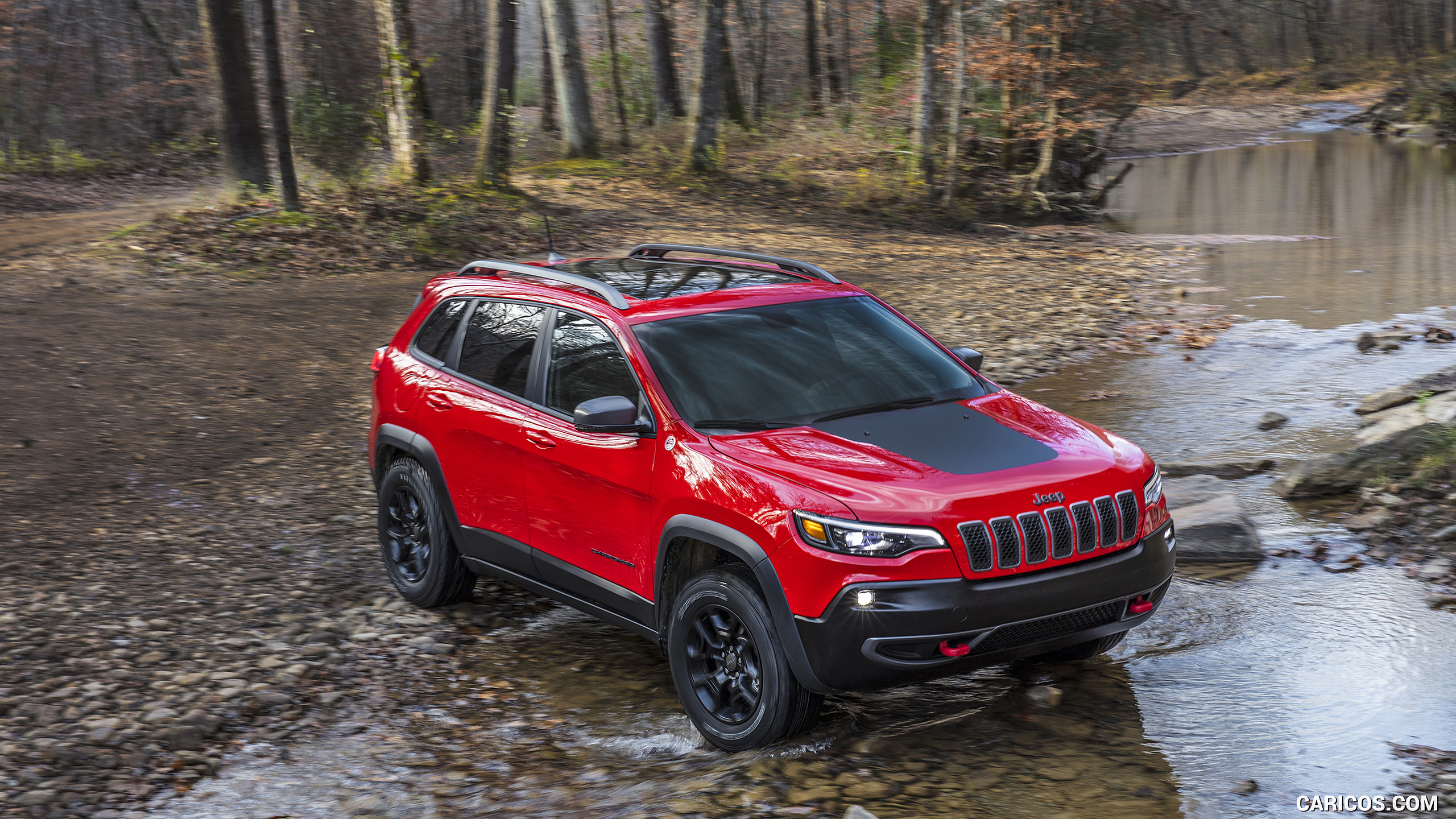 2019 Jeep Cherokee Trailhawk   Off Road HD Wallpaper 32 2560x1440