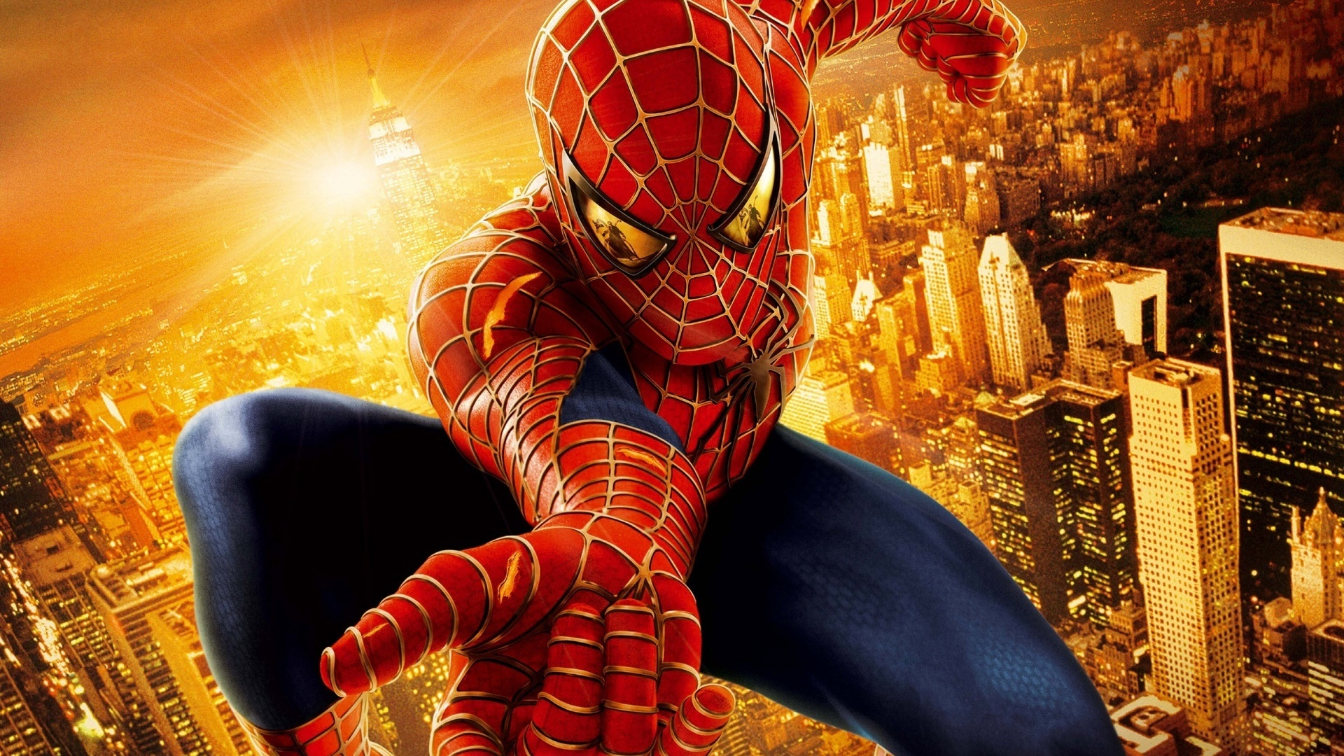 Spider Man in the city Wallpapers HD 1080p HD Desktop Wallpapers 1920x1080