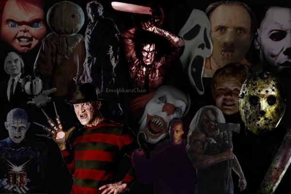 Wallpaper Horror movies by EmoHikaruChan 600x400
