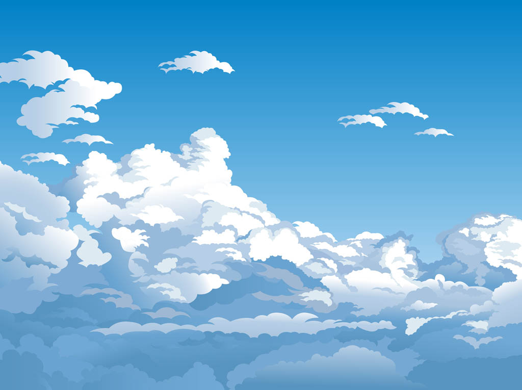 sky blue background vector - photo #25